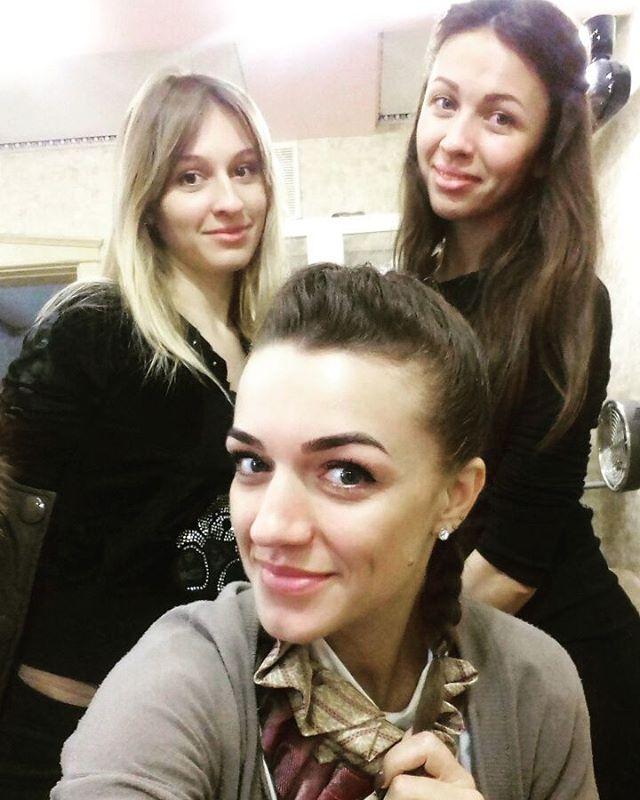 Сотрудницы салона красоты