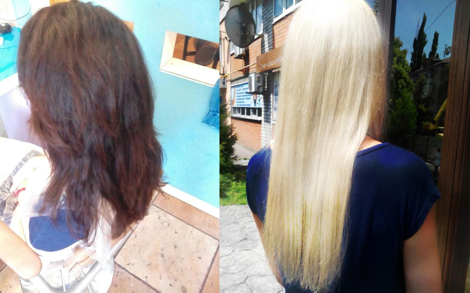«Восстановление и разглаживание волос».  Бразильский кератин.
