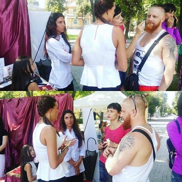 Салон красоты Цирюльня на «KremenFamilyDay» 9 июля 2016 года