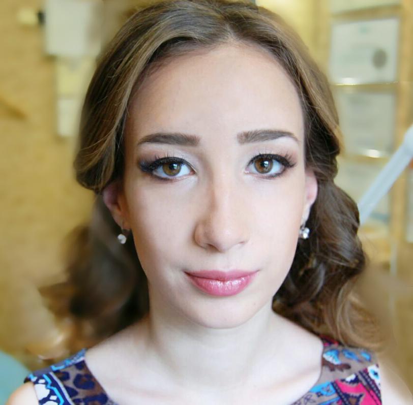 Выпускной макияж. Работа Юлии Романенко