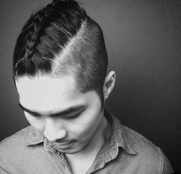 Плетение волос у мужчин