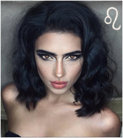Образ Лев - профессиональный макияж