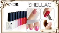 Новые оттенки гель-лаков от компании CND - «SHELLAC»
