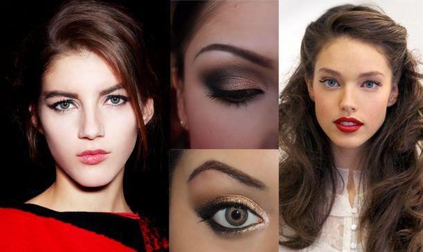 Новогодний макияж от салона красоты Цирюльня