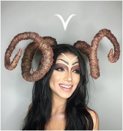 Образ Овен - профессиональный макияж