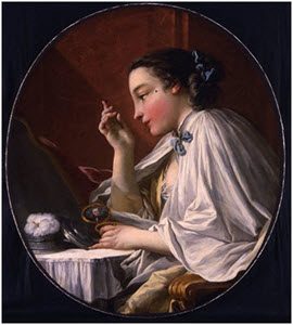 Стандарты красоты в Европе, XVIII век