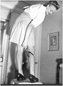 Стандарты красоты во время Второй мировой войны
