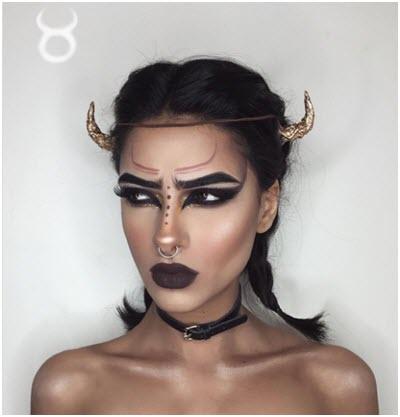 Образ Телец - профессиональный макияж