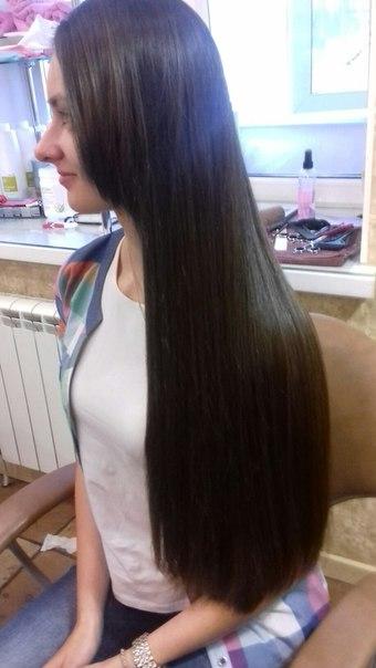 Итальянская реконструкция волос работа Наталья Мизина