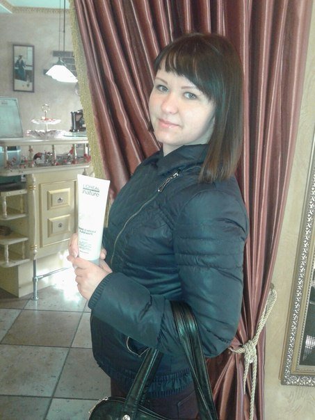 Фото клиента салона красоты
