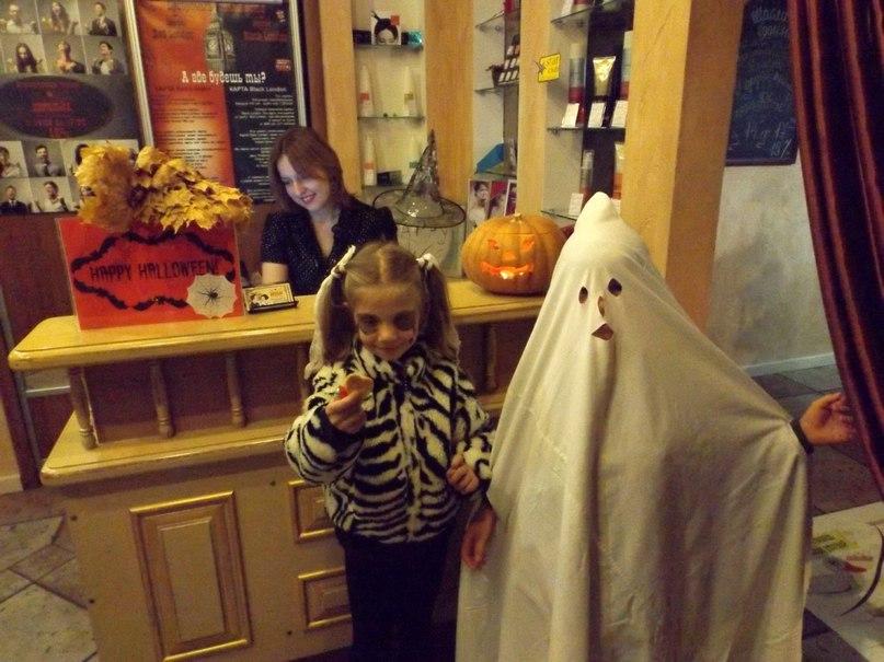 Праздник Хелоуин в салоне красоты «Цирюльня на Еленской»