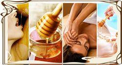 Цукровий масаж обличчя і декольте