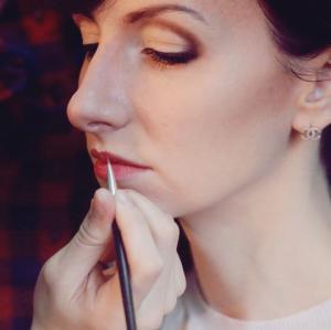 Фотографії робіт майстрів салону з макіяжу