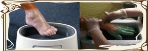 Парафінотерапія для ніг і рук